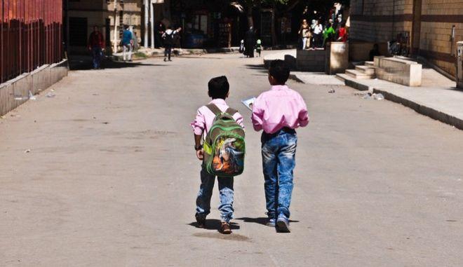 Μαθητές στην Αίγυπτο