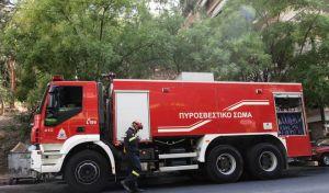 Ηράκλειο:Φωτιά σε Ι.Χ. εν κινήσει- Σώοι οι επιβάτες