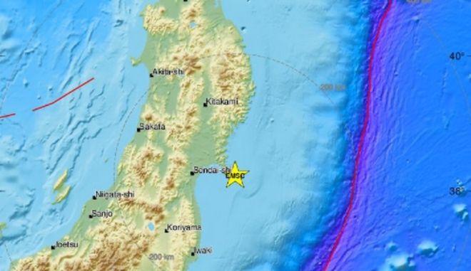 Σεισμός 6,8 Ρίχτερ στην Ιαπωνία - Δεν υπάρχει κίνδυνος για τσουνάμι