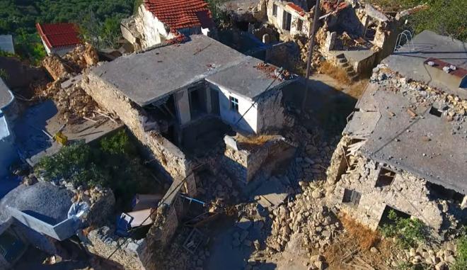 Το μέγεθος της καταστροφής μετά τον σεισμό στο Ηράκλειο