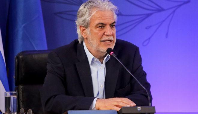 """Κακοκαιρία """"Μπάλλος"""": Η ενημέρωση από τον υπουργό Πολιτικής Προστασίας, Χρήστο Στυλιανίδη"""