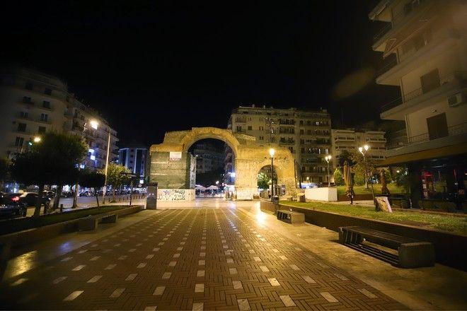 Πρώτη μέρα απαγόρευσης νυχτερινής κυκλοφορίας στη Θεσσαλονίκη