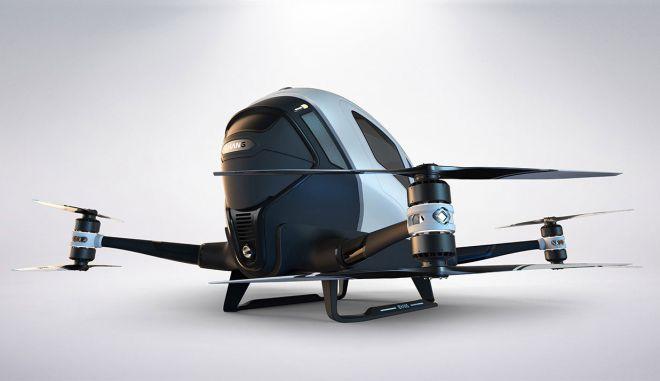 Ιπτάμενο μονοθέσιο ταξί δοκιμάζεται στο Ντουμπάι