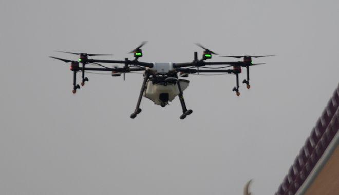 Πτήση drone. Φωτό αρχείου.