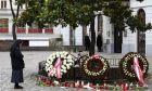 Εικόνα από σημείο της τρομοκρατικής επίθεσης στη Βιέννη