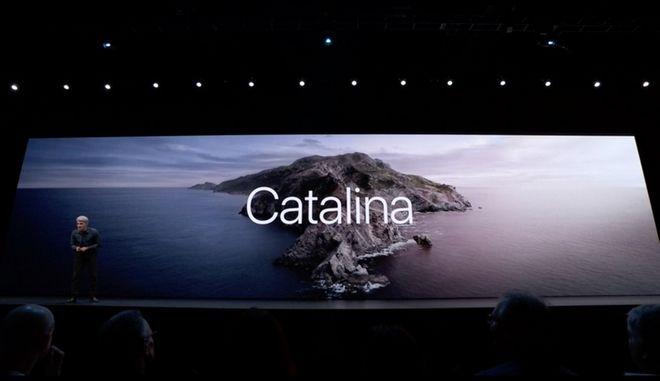Το macOS Catalina (έκδοση 10.15)