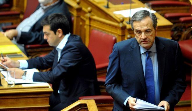 Συζήτηση στην Ολομέλεια της Βουλής για το δημοψήφισμα το Σάββατο 27 Ιουνίου 2015. (EUROKINISSI/ΑΝΤΩΝΗΣ ΝΙΚΟΛΟΠΟΥΛΟΣ)