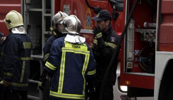 Καταστράφηκε ολοσχερώς σπίτι από πυρκαγιά στη Σητεία