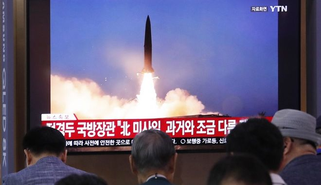 Η Βόρεια Κορέα εκτόξευσε νέου τύπου βαλλιστικούς πυραύλους