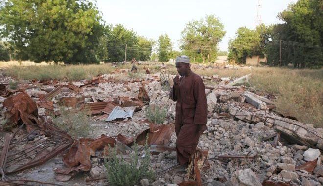 Φωτογραφία αρχείου από βομβιστική επίθεση της Μπόκο Χαράμ στη Νιγηρία