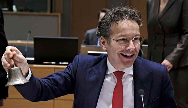 Eurogroup finance ministers meeting at the European Council in Brussels, Belgium on Dec. 4, 2017. /          4 , 2017.