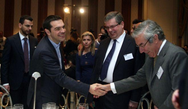 """Ομιλία του Προέδρου του ΣΥΡΙΖΑ ΕΚΜ Αλέξη Τσίπρα στην ετήσια οικονομική διάσκεψη της 'Ενωσης Ελλήνων Επιχειρηματιών (ΕΕΝΕ) με θέμα """"Η κρίση στην Ευρωζώνη προκλήσεις και ευκαιρίες για τον Ευρωπαϊκό Νότο"""",Πέμπτη 18 Απριλίου 2013"""