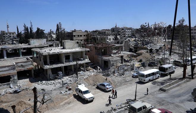 Δεν βρέθηκε νευροπαραλυτικό αέριο αλλά ίχνη χλωρίου στη Ντούμα