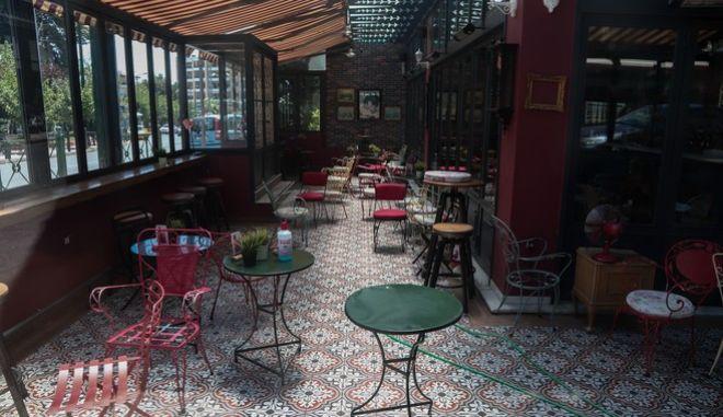 Η καφετέρια στο Περιστέρι, όπου δολοφονήθηκε νεαρός άνδρας