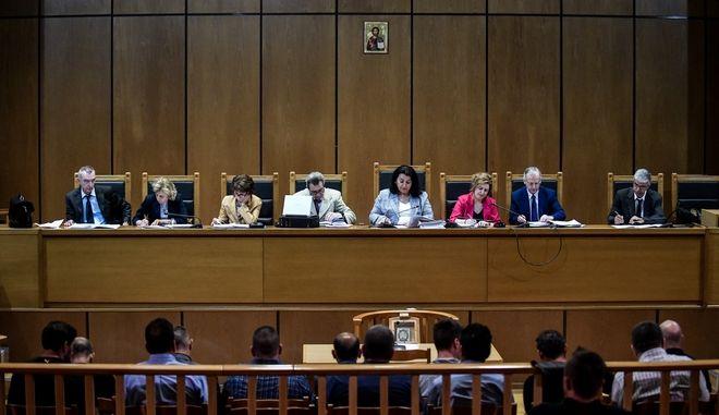 Απολογία του κατηγορουμένου Κωνσταντίνου Κορκοβίλη στην δίκη της Χρυσής Αυγής την Παρσκευή 28 Ιουνίου 2019, για τα γεγονότα της δολοφονίας του Παύλου Φύσσα από τον Γ. Ρουπακιά το βράδυ της 17ης Σεπτεμβρίου 2013.
