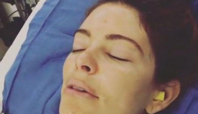 Συγκλονίζει το βίντεο της Μαρίας Μενούνος μετά την επέμβαση