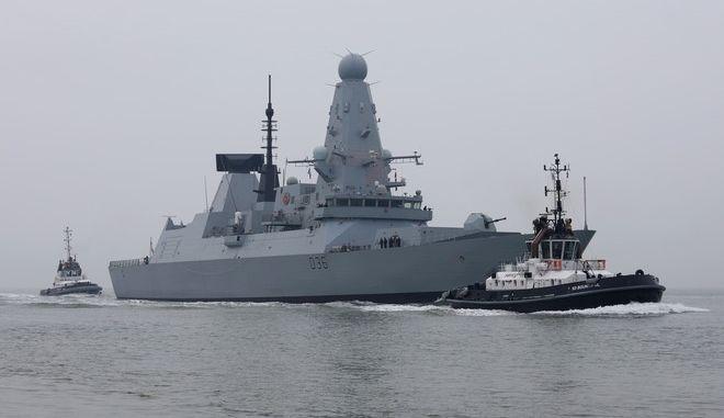 Το βρετανικό HMS Defender