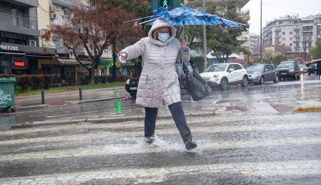 Προβλήματα από την κακοκαιρία στη Βόρεια Ελλάδα