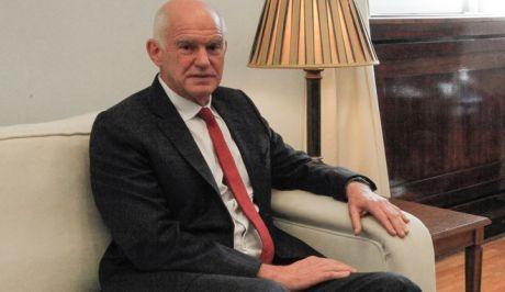 Ο πρώην πρωθυπουργός, Γιώργος Παπανδρέου