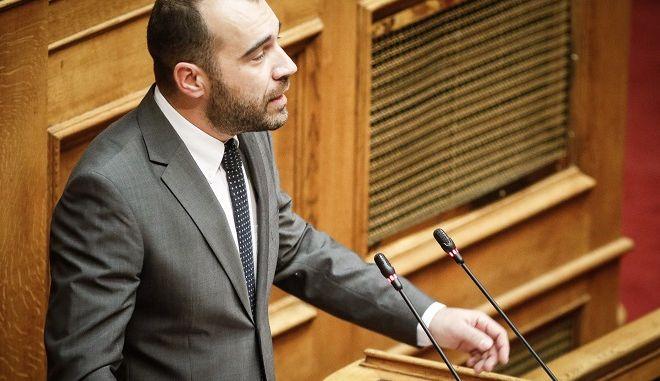 Ο Χρυσαυγίτης βουλευτής Παναγιώτης Ηλιόπουλος