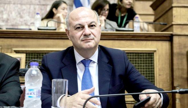 """Επεξεργασία και εξέταση του σχεδίου νόμου του Υπουργείου Δικαιοσύνης """"Τροποποιήσεις Ποινικού Κώδικα, Κώδικα Ποινικής Δικονομίας και συναφείς διατάξεις"""", στην Επιτροπή Δημόσιας Διοίκησης, Δημόσιας Τάξης και Δικαιοσύνης, την Τρίτη 5 Νοεμβρίου 2019. (EUROKINISSI/ΓΙΑΝΝΗΣ ΠΑΝΑΓΟΠΟΥΛΟΣ)"""