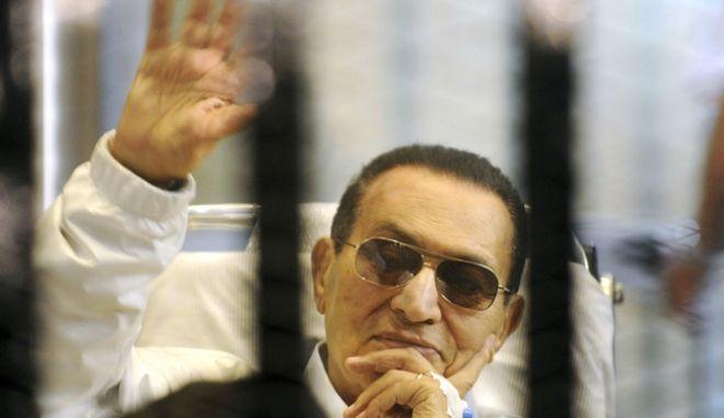 Ο πρώην πρόεδρος της Αιγύπτου Χόσνι Μουμπάρακ