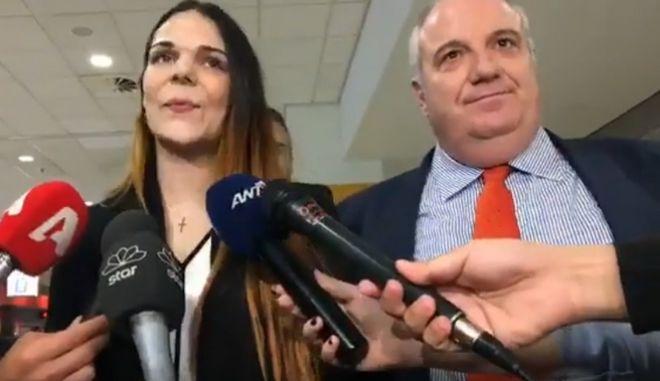 """Στην Αθήνα επέστρεψε η Ειρήνη Μελισσαροπούλου: """"Από την αρχή έλεγα ότι είμαι αθώα"""""""