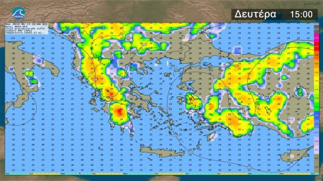 Καιρός: Σε κανονικά επίπεδα η θερμοκρασία - Αστάθεια στα ηπειρωτικά