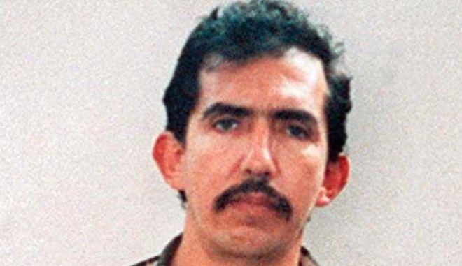 O Luis Garavito, στη σύλληψη του το 1999.