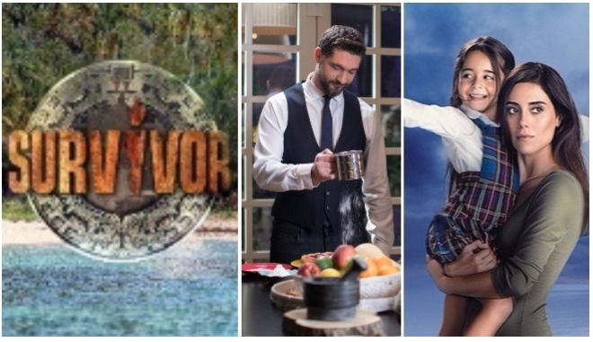 Τηλεθέαση: Τούρκικη αντίσταση στο Survivor - Ανεβαίνει κι άλλο το Master Chef