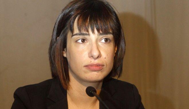 Η εκπρόσωπος Τύπου του ΣΥΡΙΖΑ Ράνια Σβίγκου