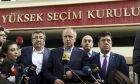 Ο Μουχαρέμ Ιντζέ σε δηλώσεις μετά την ήττα του στις τουρκικές εκλογές