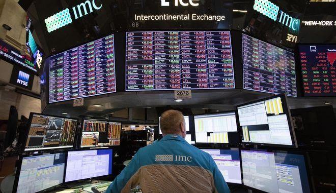 Φωτογραφία Αρχείου στη Wall Street