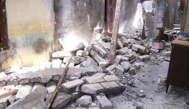 Καταστροφές από τον σεισμό που χτύπησε την Παπούα Νέα Γουινέα