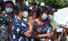 Πολίτες στη Μιανμάρ