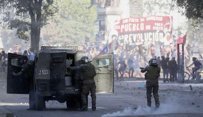 H ένταση στη Χιλή δεν υποχωρεί