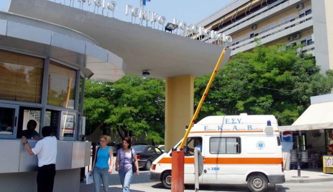 Διαμαρτυρία του Ιατρικού Συλλόγου για τραυματισμό γιατρού στο Ιπποκράτειο νοσοκομείου