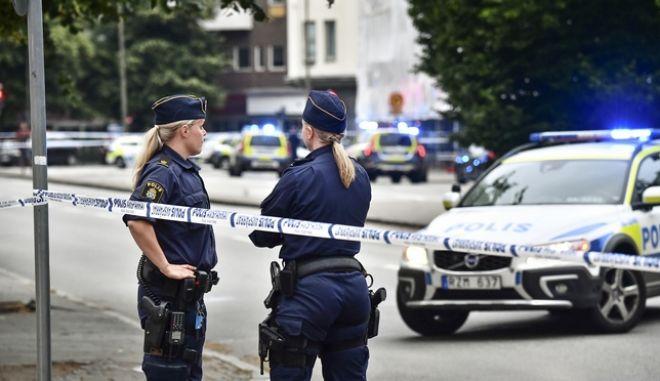 Αστυνομικές δυνάμεις της Σουηδίας - Φωτό αρχείου