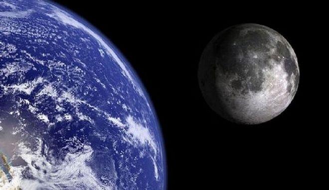 Σελήνη - Γη
