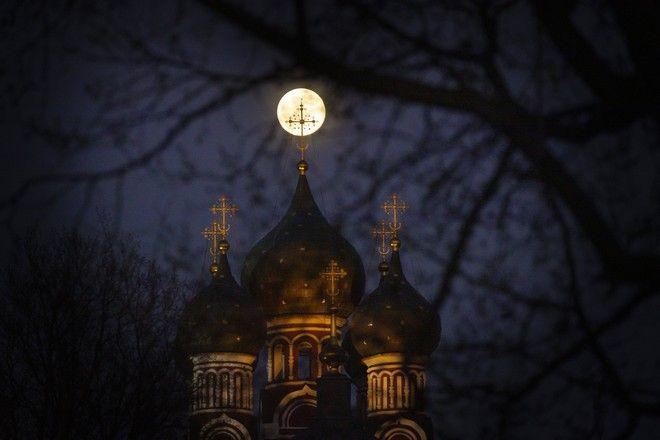 Πανσέληνος στη Ρωσία