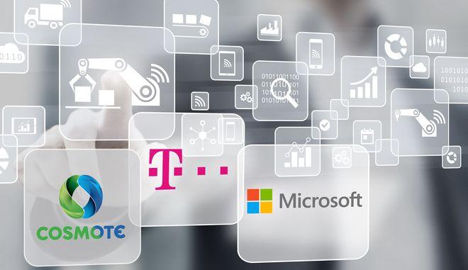 Συνεργασία Cosmote και Microsoft