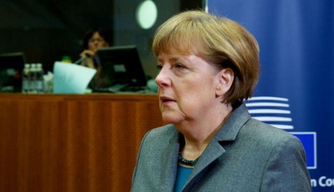 Στιγμιότυπο από την Σύνοδο Κορυφής της Ευρωπαϊκής Ένωσης στις Βρυξέλλες την Πέμπτη 12 Φεβρουαρίου 2015. (EUROKINISSI/ΕΥΡΩΠΑΪΚΗ ΕΝΩΣΗ)