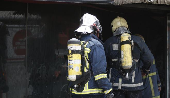 Πυροσβέστες - Φωτογραφία αρχείου