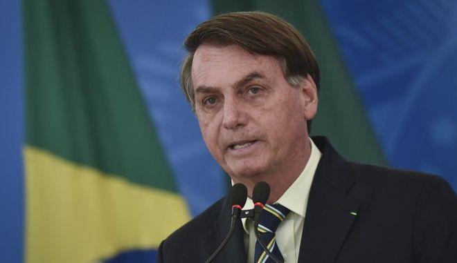 Ο πρόεδρος της Βραζιλίας, Ζαΐχ Μπολσονάρο
