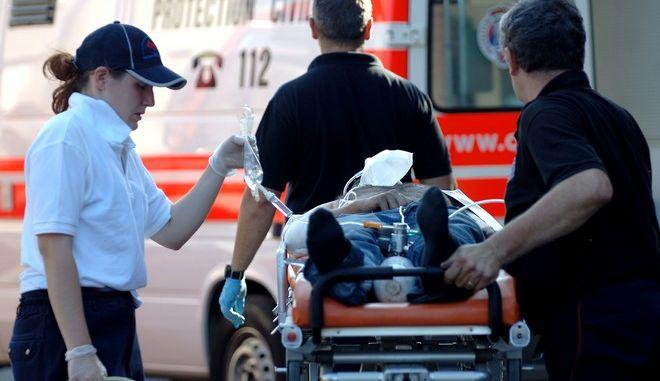 Ασθενοφόρο στο Λουξεμβούργο