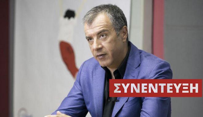 Σταύρος Θεοδωράκης στο NEWS 247: Το Ποτάμι διεκδικεί να είναι η τρίτη δύναμη με 10%