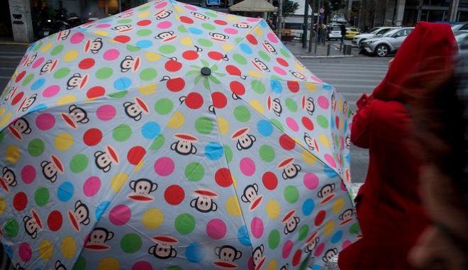 Βροχερός καιρός (Φωτογραφία αρχείου)