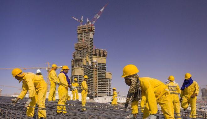 Εργάτες στο Ντουμπάι