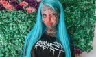 Η Amber Luke έχει καλύψει το 98% του δέρματός της με τατουάζ