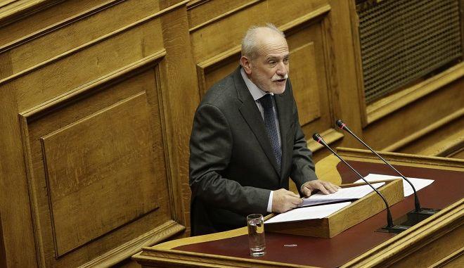Ο υπεύθυνος ΚΤΕ Οικονομικών της Δημοκρατικής Συμπαράταξης Γιάννης Κουτσούκος